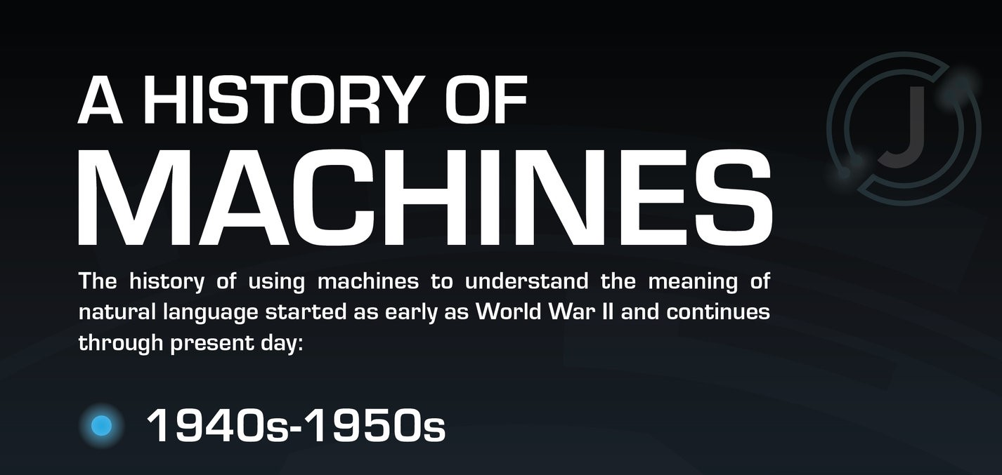 A History of NLP Machines